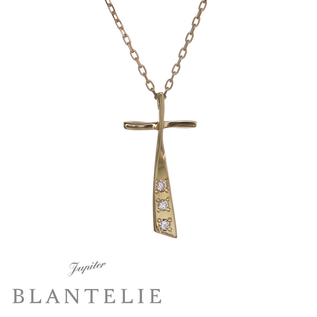 croix qui brilleネックレス