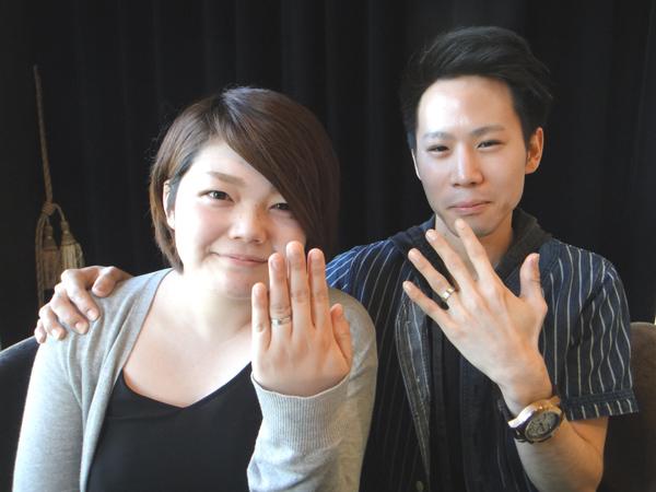 秋山拓也様&天野彩加様おめでとうございます☆!