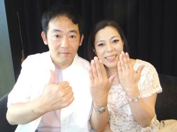 小倉孝夫様&千恵子様「12時ちょうどで変化するシンデレラ」