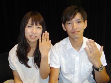 坂本一樹様&梨加様 サプライズプロポーズで幸せいっぱい