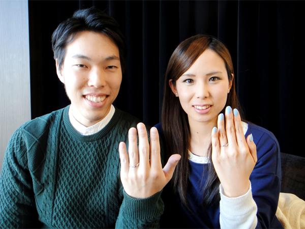 藤井想様&理奈様 幸せオーラいっぱいのお二人!