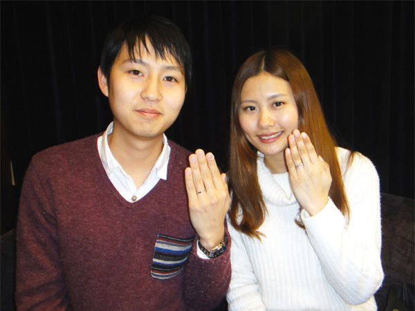今福和徳&綾香様 魔法のラインが2人を繋ぐ
