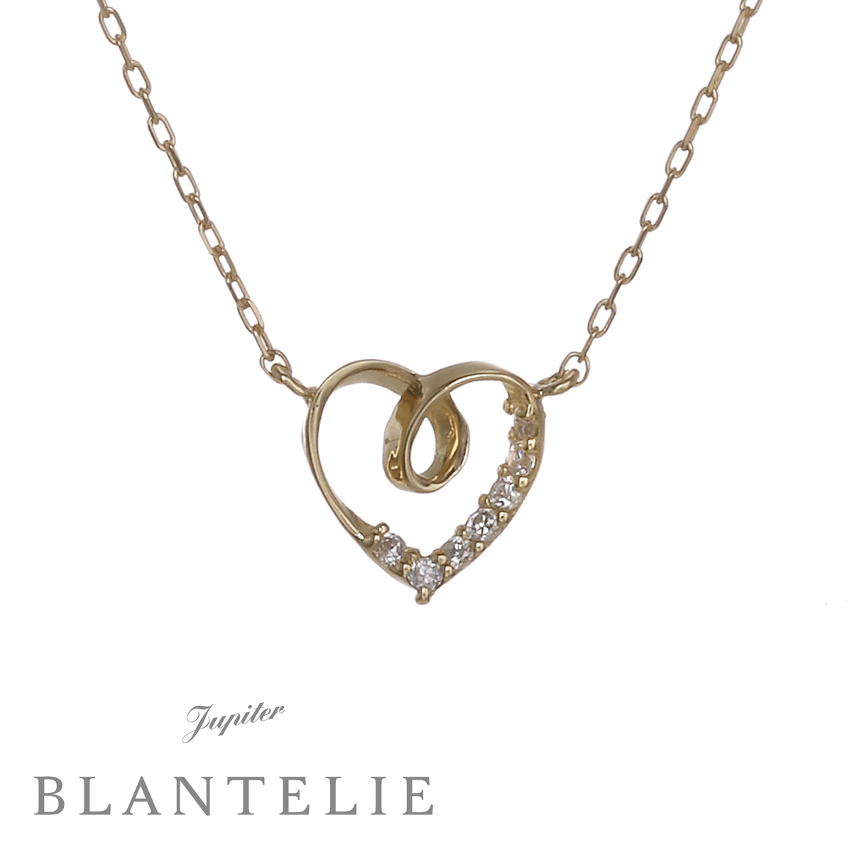 infinity heartネックレス