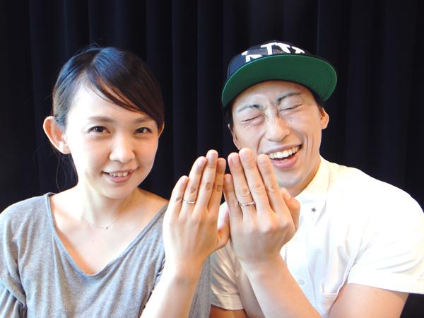小澤直樹様&亜希奈様 いつまでも可愛いお二人で。