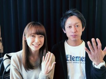 渡邊裕喜様&幸子様 ご結婚式おめでとうございます