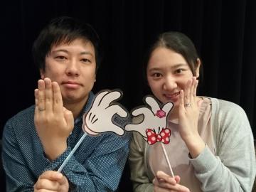 椎名寛武様&鏑木由希奈 愛の象徴~ピンクダイヤモンド~