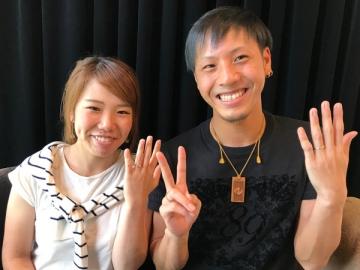 大石幸晃様&山本愛様 御入籍おめでとうございます!