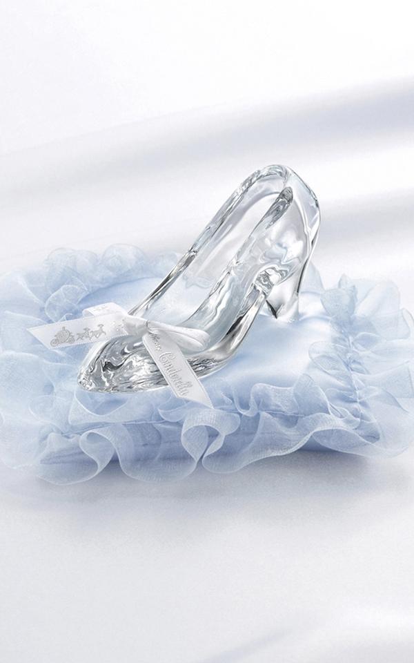 シンデレラのガラスの靴型リングピロー プレゼント