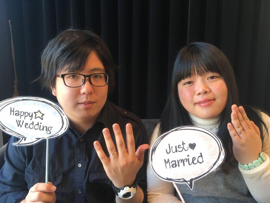 S・T様&M・T様 Happy Wedding