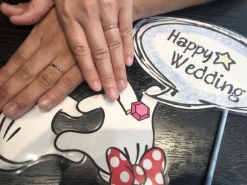 C様&S様 ご結婚おめでとうございます!!