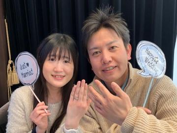 鈴木孝仁様&聡美様 Happy Wedding ♡